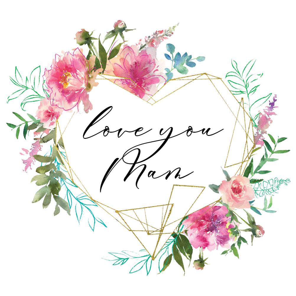 Geometric Floral Heart Mother S Day Card Free Greetings Island Online Mothers Day Cards Mothers Day Card Template Mothers Day Cards