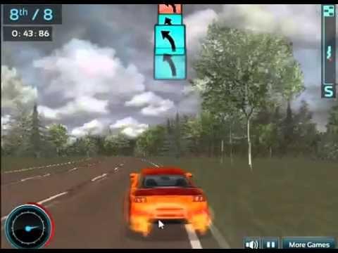 Supercar Road Trip Game