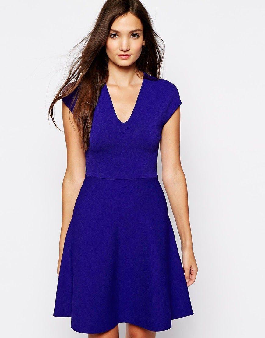Espectaculares vestidos cortos de mujer | Vestidos de moda de ...