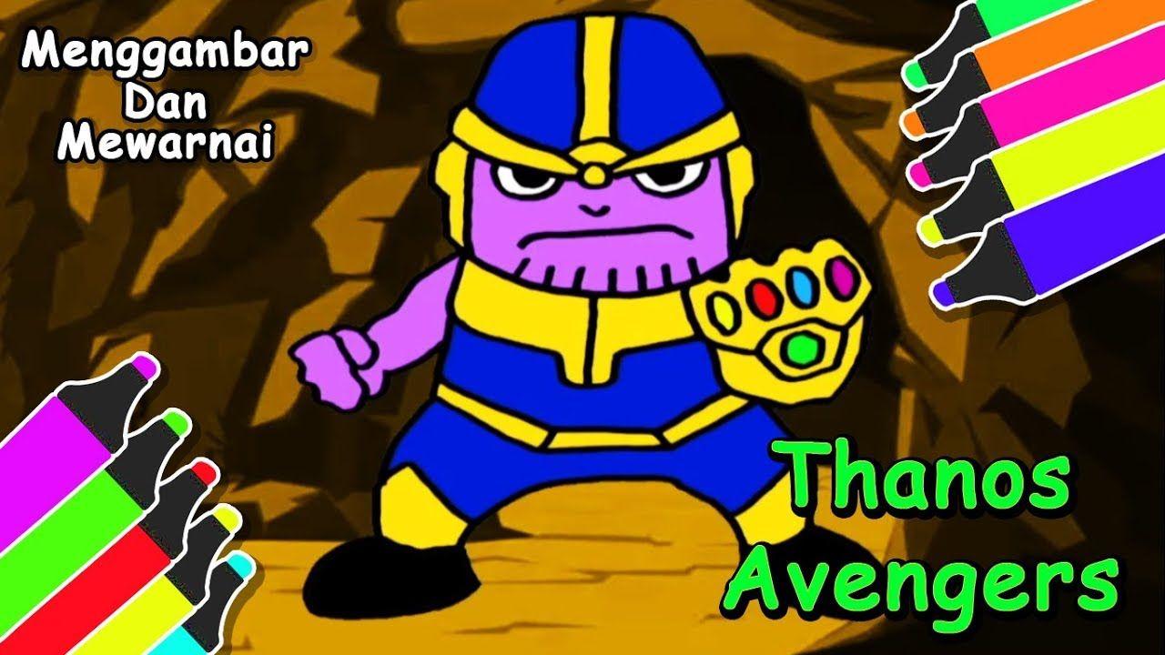 Imutnya Thanos Kalau Digambar Jadi Kartun Untuk Anak Anak