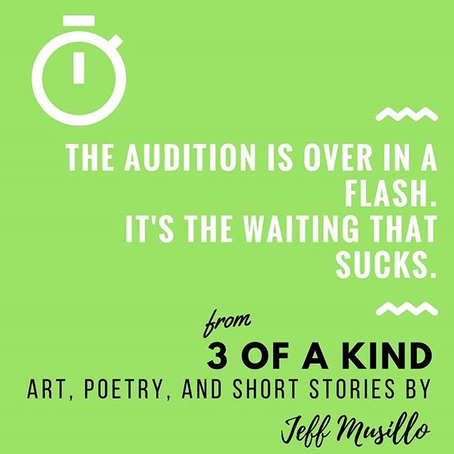 An #excerpt from 3 of a Kind by Jeff Musillo. #Read the entire #collection when you get the #book at https://buff.ly/2FbWCML and see why #readers are calling this work a #fresh take on #modern #literature!