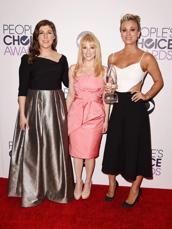 People Choice Award - Ladies from Big Bank Theory - Mayim ...