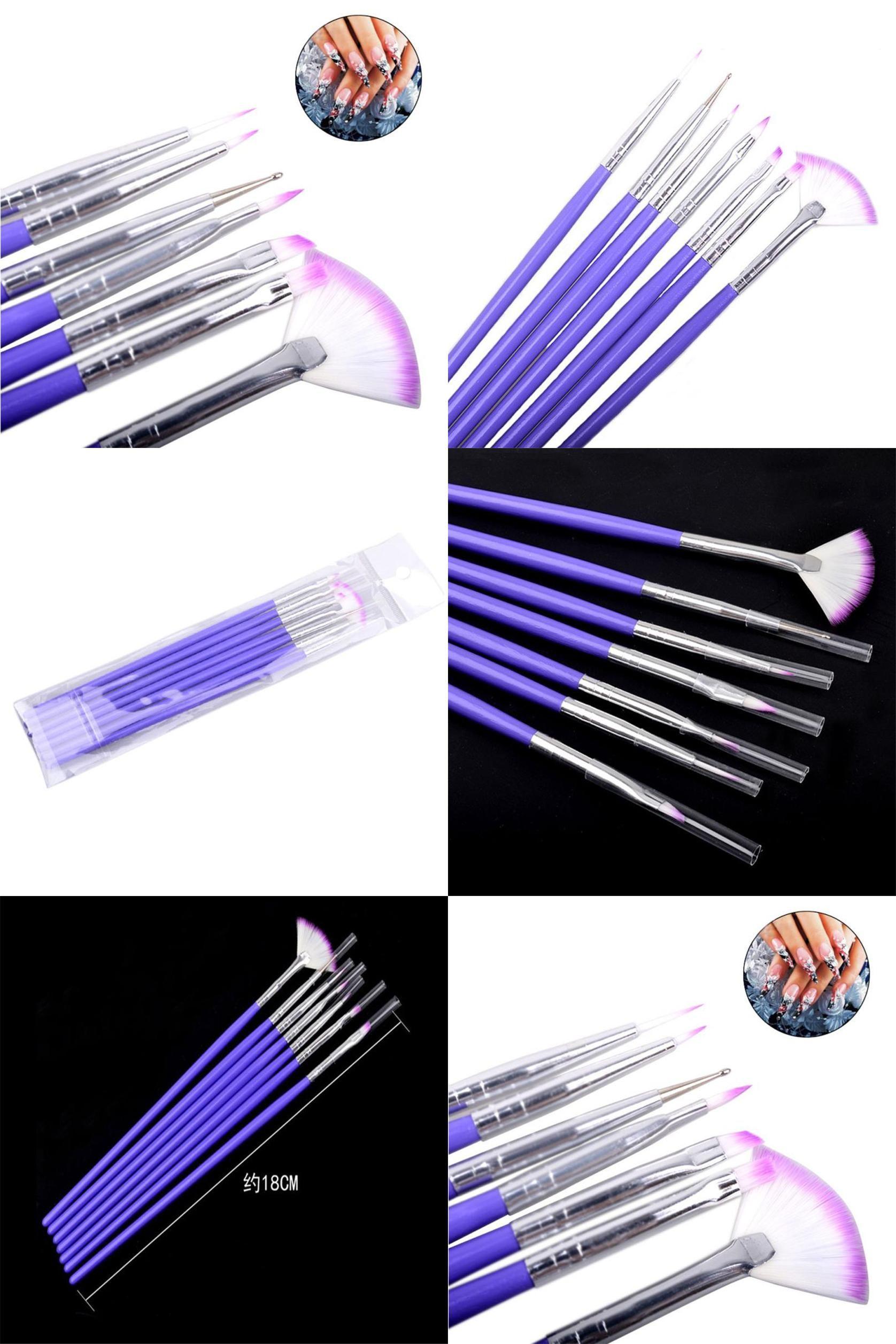 Visit To Buy Nail Brushes 7pcsset Luxury Nail Art Design Brushes