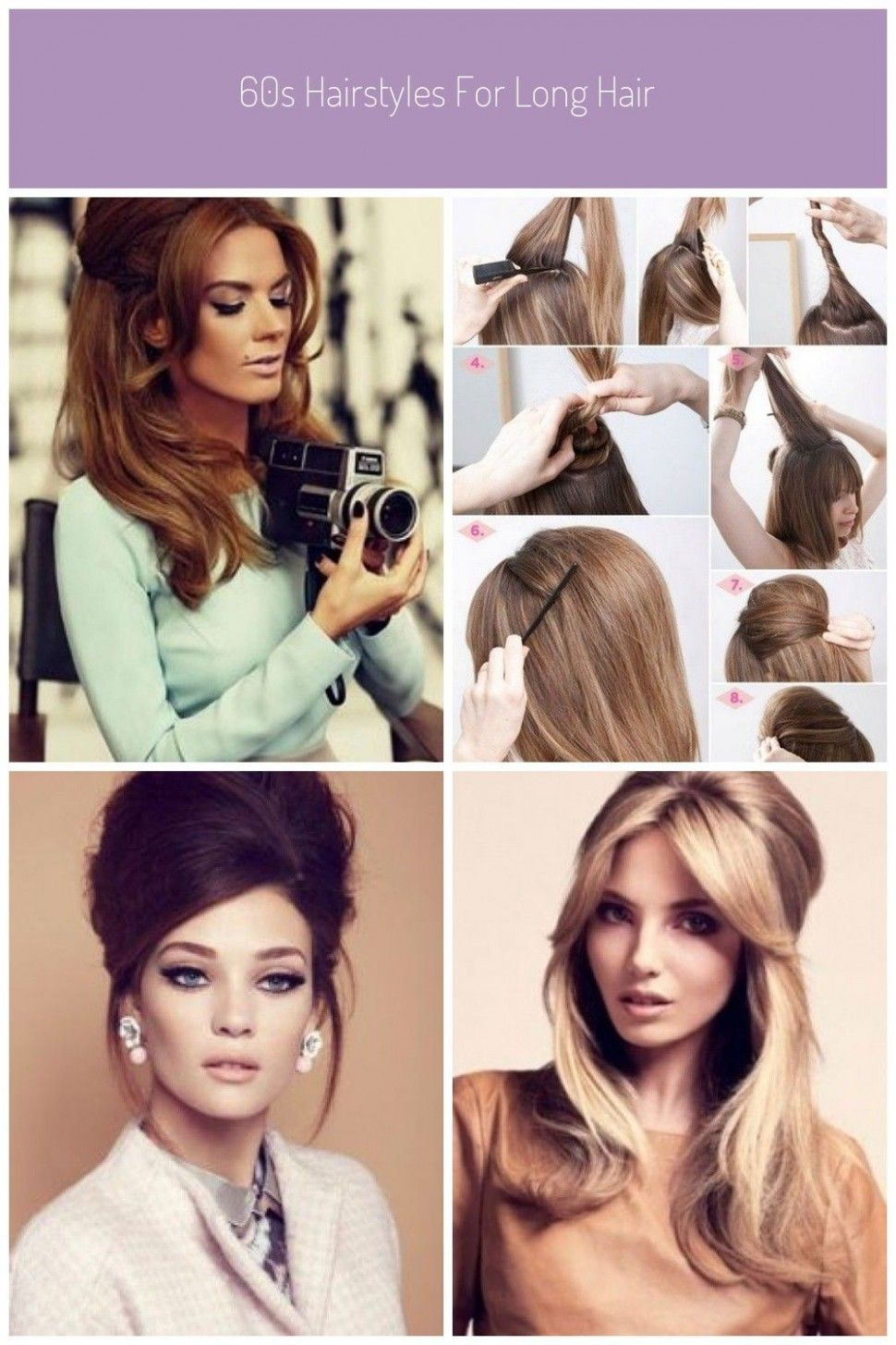 10 Awesome 1960s Hairstyles For Long Hair In 2021 Long Hair Styles Long Hair Wedding Styles Long Hair Images