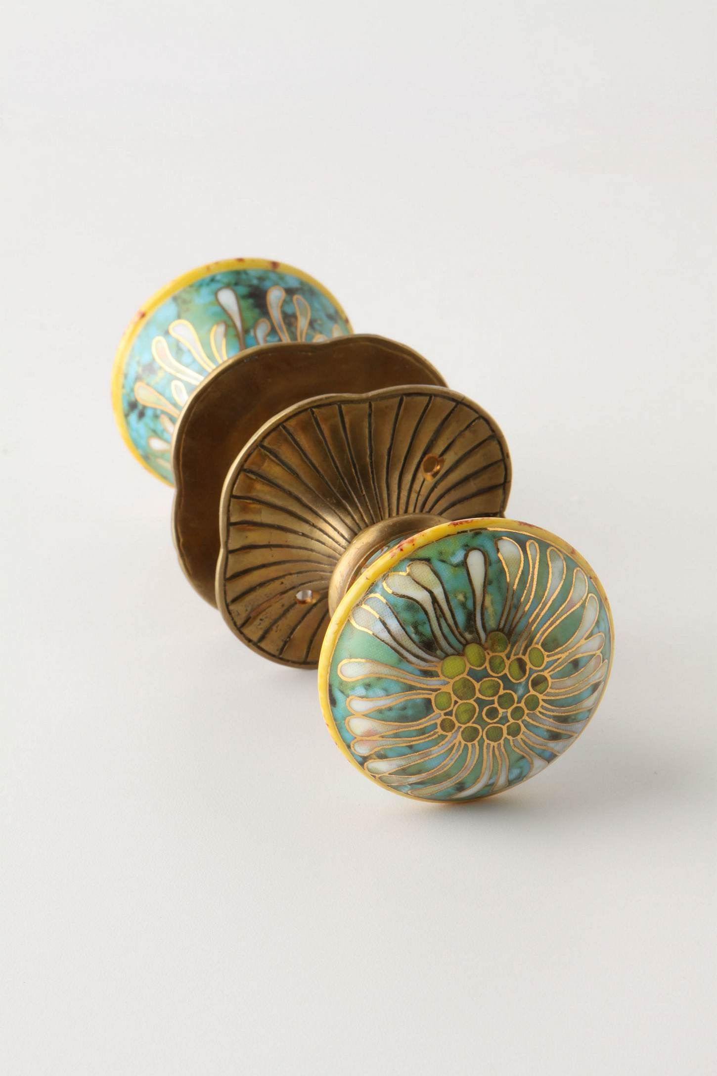 Genial Doorknob Via Anthropologie