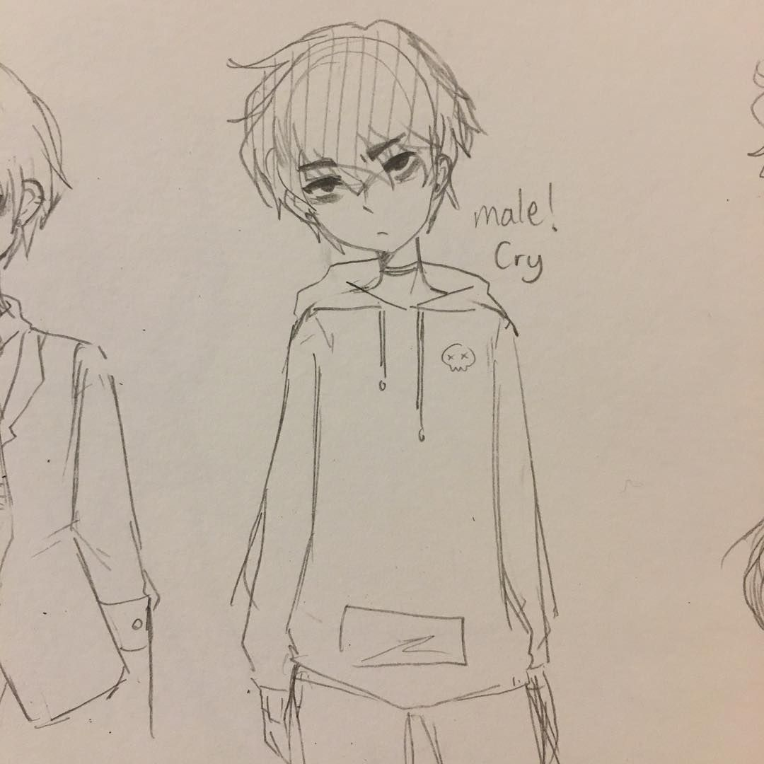 Yay Or Nay For Male Cry Crydiasocs Drawing Base Cry Drawing Anime Drawings Tutorials