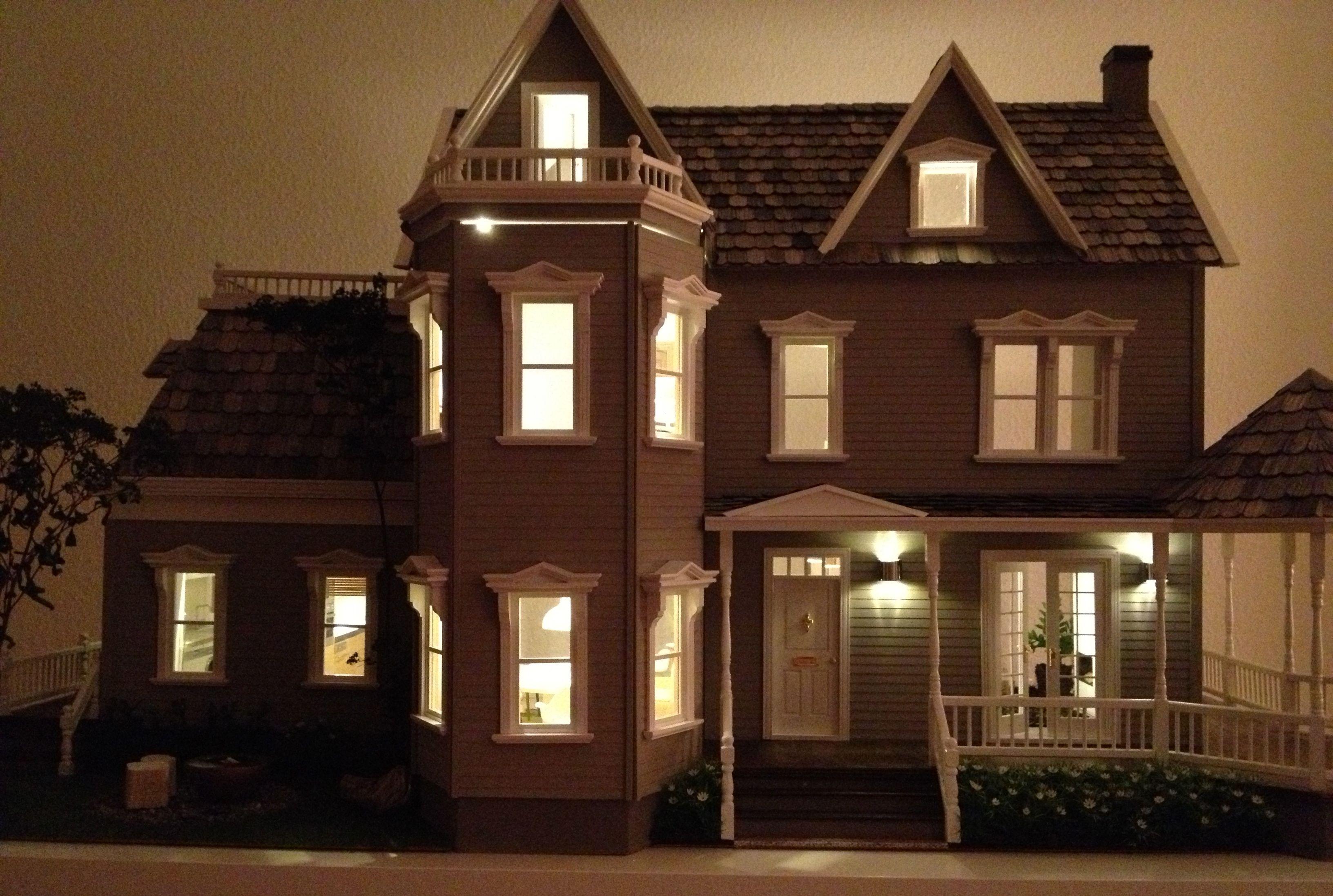 lighting for dollhouses. Dollhouse Lights / Lit Up Lighting For Dollhouses