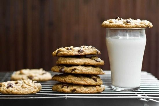 These were amazing! Vegan chocolate chip cookies http://bit.ly/HZH7SN