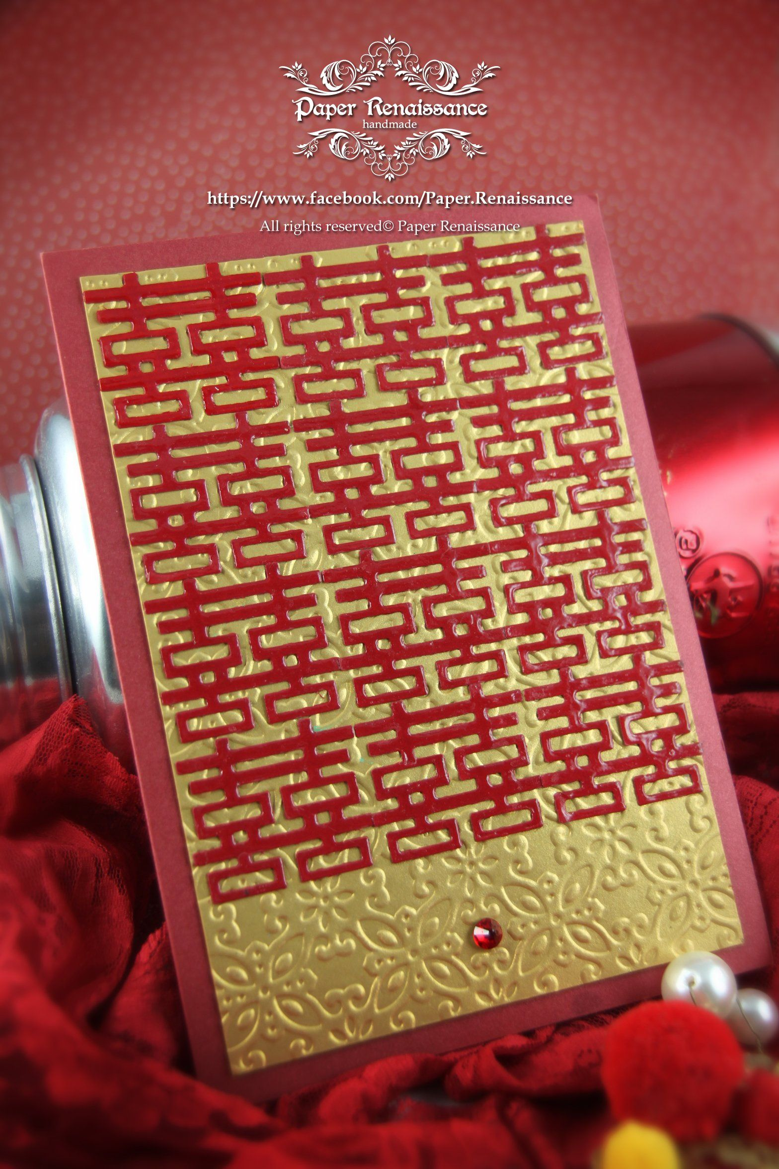 Tailor Made Chinese Wedding Invitation 中式邀請卡 | Hong Kong Paper ...