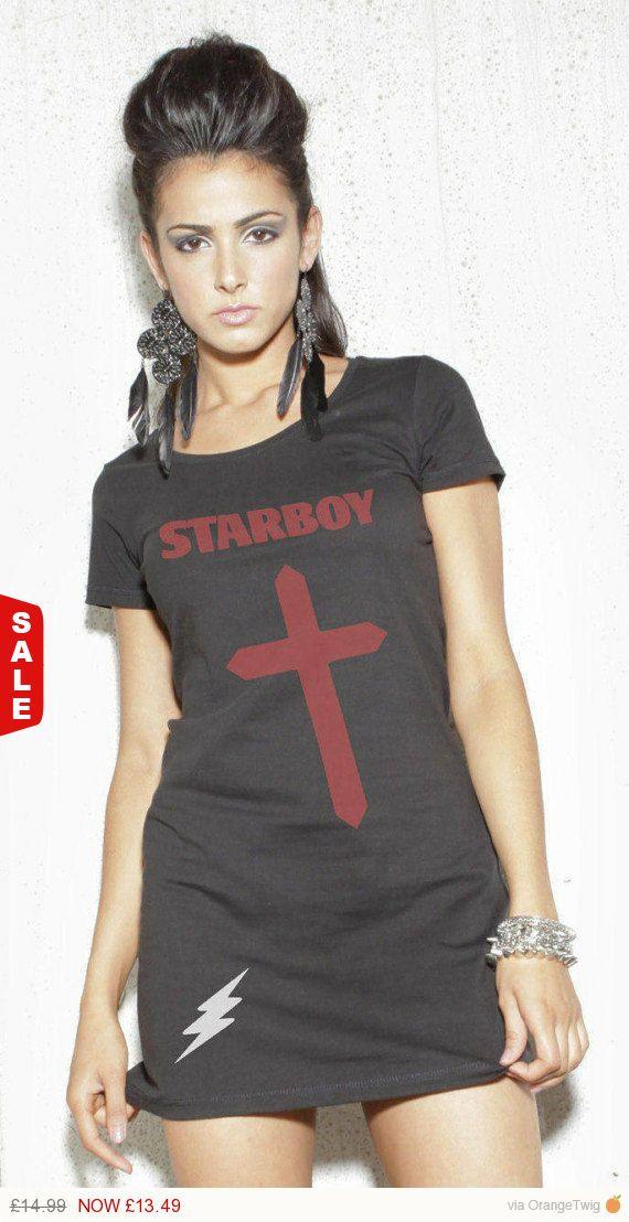 Long Tshirt The Weeknd Starboy Dress Weekndt Shirt T Star Boy Theweeknd Tshirts