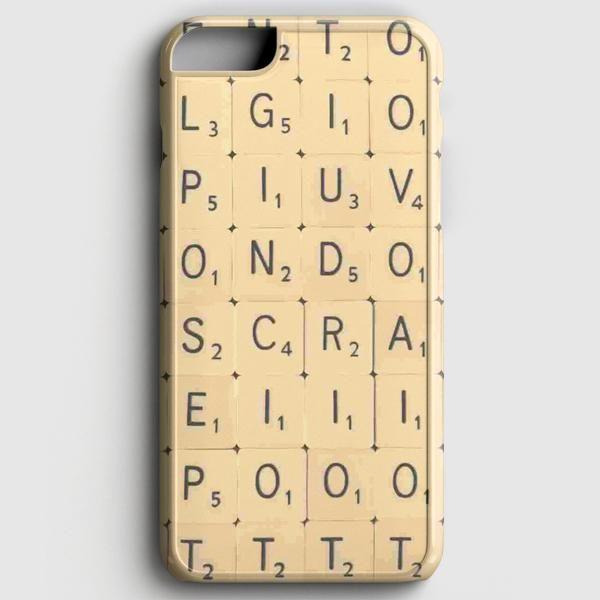 Scrabble Word Game iPhone 6 Plus/6S Plus Case casescraft