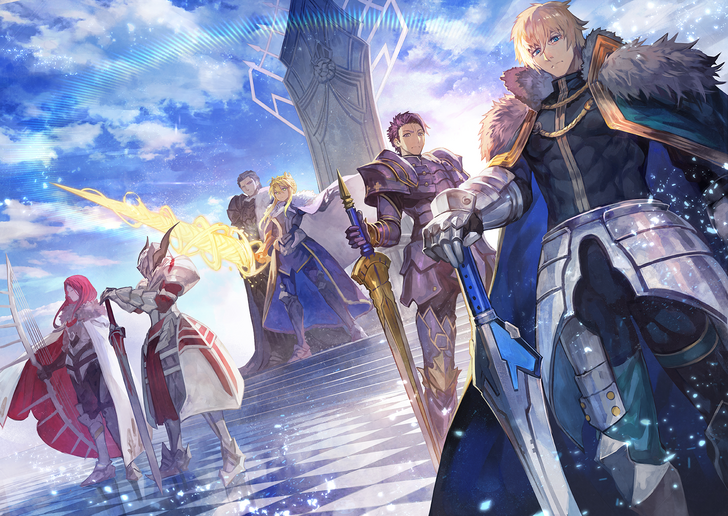 Knights Of The Round Table Sword Names.Knights Of The Round Table Fate Grand Order Type Moon Fate