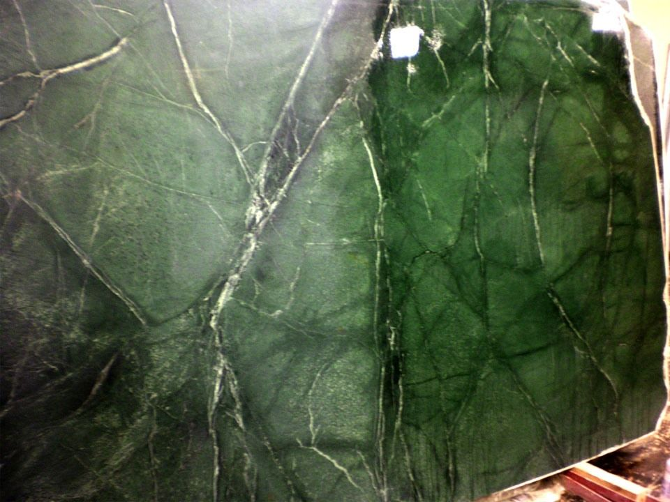 Green Soapstone Oiled Vs Not
