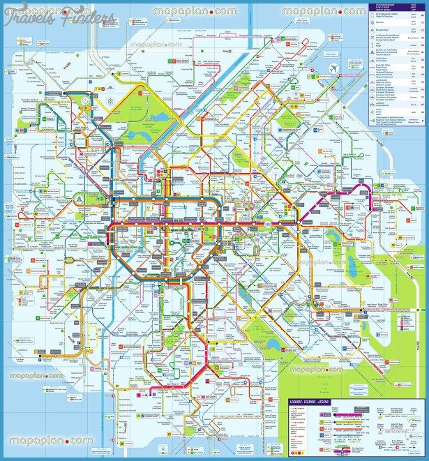 Brussels Map Tourist Attractions