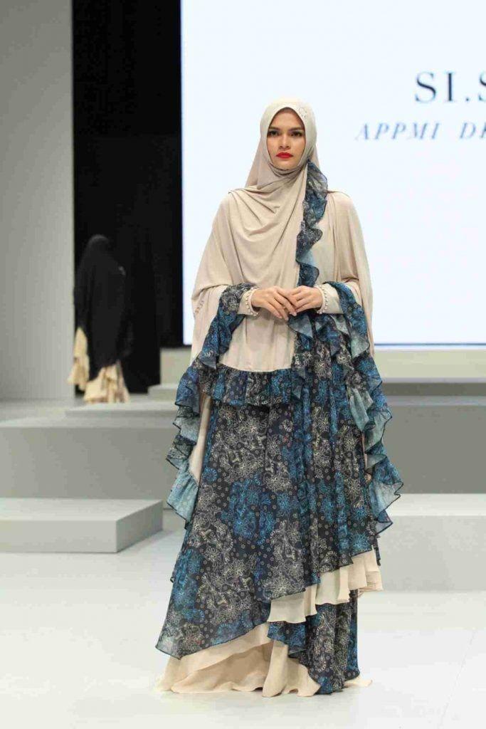 Desain Gaun Batik Muslimah Modern - Eza Batik di 2020 ...