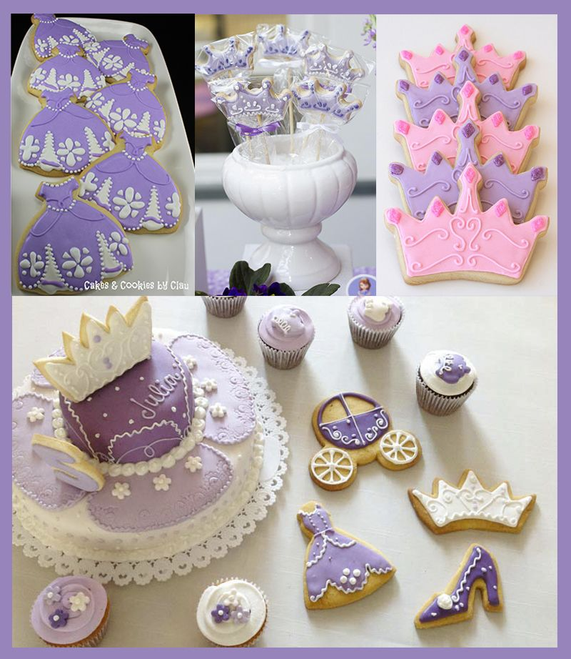 Pin By Abby Onkst On Nora S 5th Birthday: Princesa Sofia Cookies