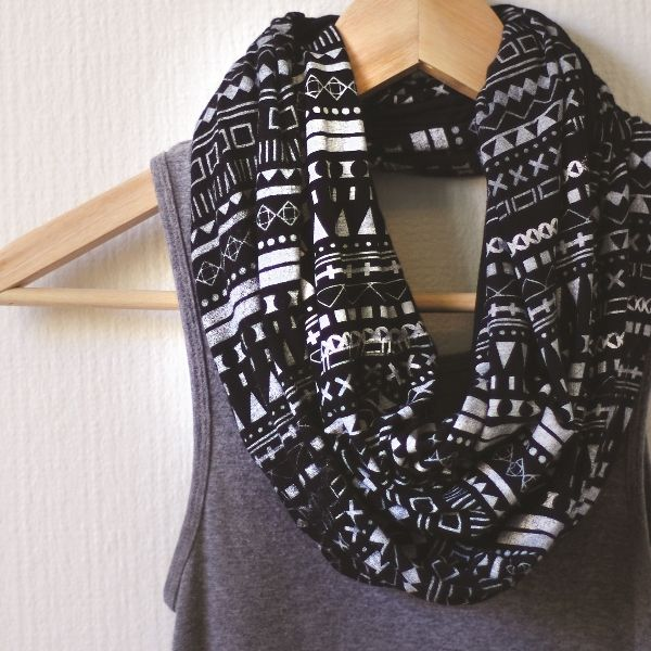 Super cute Santa Fe Adventure Infinity Scarf by Little Minnow