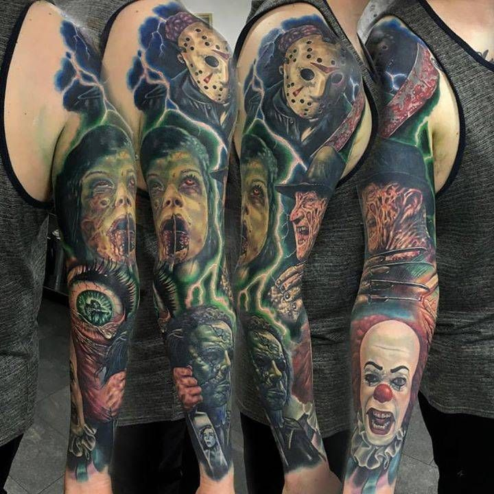 Horror Movie Tattoos Tattoos: Pin By Trinidy Acevedo On Tatoos