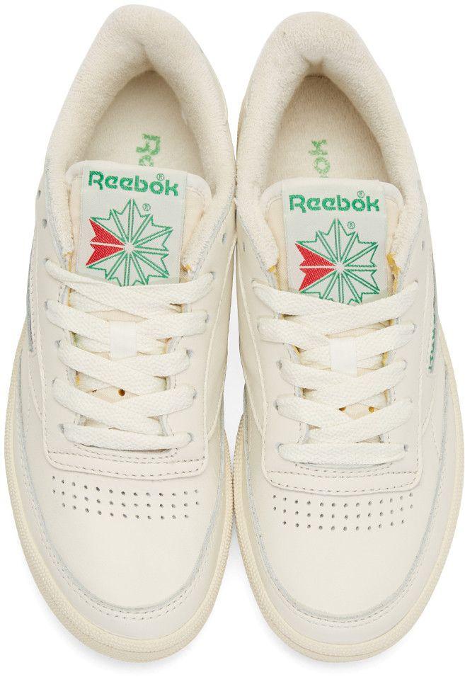454423decdc Reebok Classics - Off-White Club C 85 Sneakers