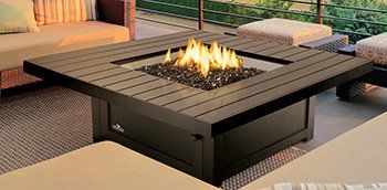 Napoleon St Tropez 48 Square Gas Fire Table Fire Pit Gas Fire Table Fire Table