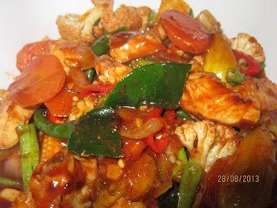 Resepi Cikgu Ani Ayam Paprik Resep Babi Resep Ayam Resep Seafood