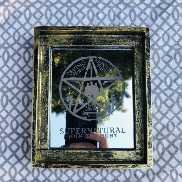 Small Supernatural Decorative Mirror for Sale in Kirkland ... on Floor Mirrors Decorative Kirklands id=66976