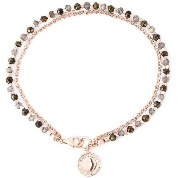 Astley Clarke 'Cosmos Biography' bracelet ($155) ❤ liked on Polyvore featuring jewelry, bracelets, metallic, astley clarke jewelry, metallic jewelry and astley clarke
