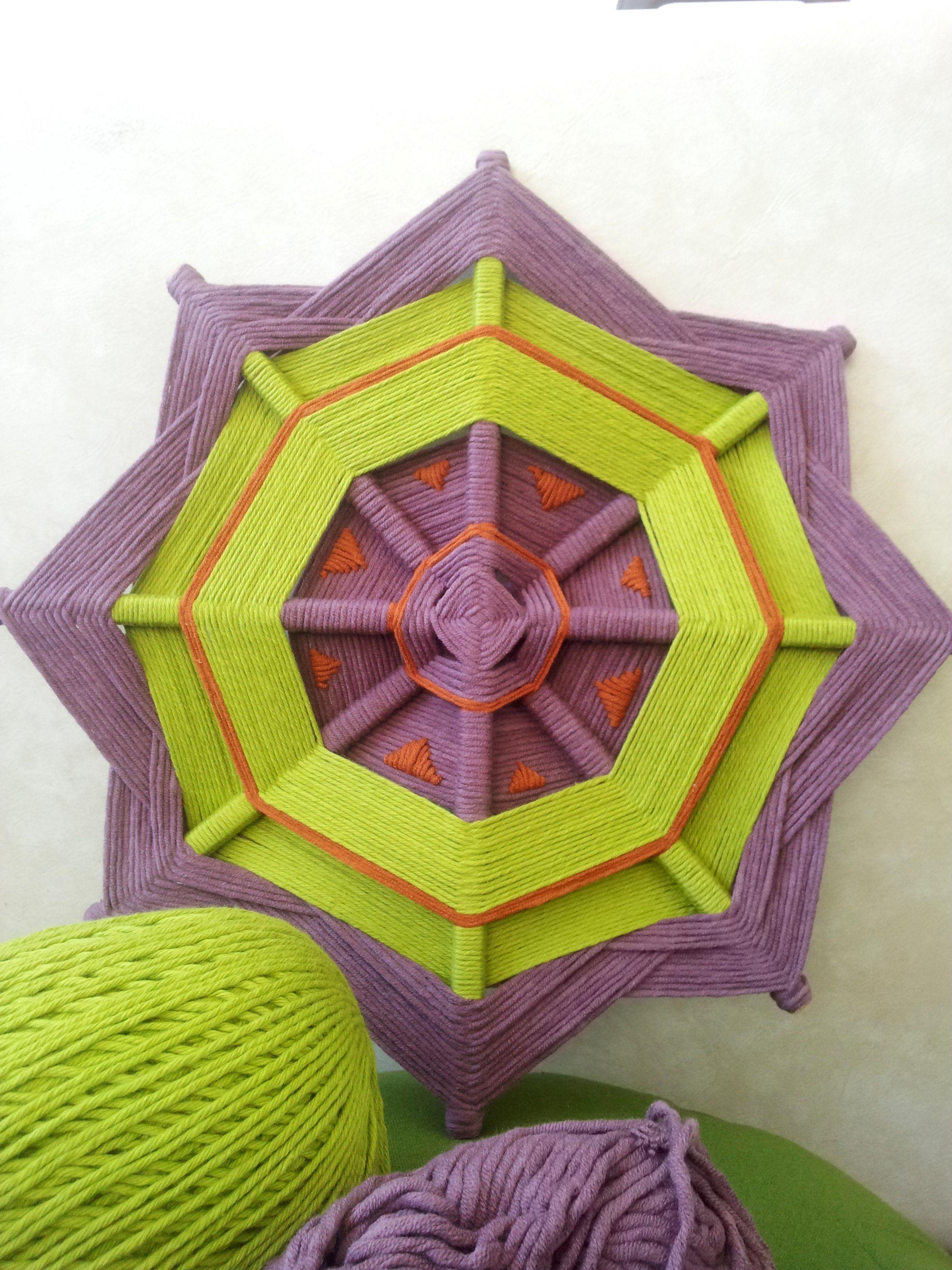 God's Eye Mandala - Cotton 40cm Ojo de Dios