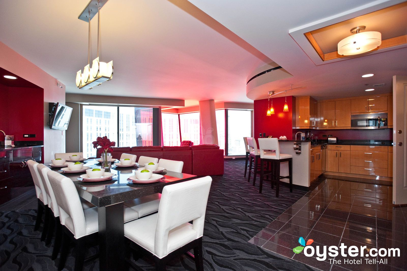 Elara A Hilton Grand Vacations Club  Center Strip Las Vegas Adorable 3 Bedroom Suite Vegas Design Inspiration