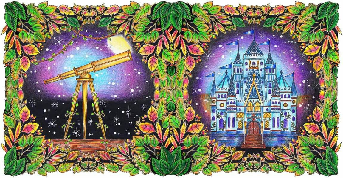 Telescope And Castle Enchanted Forest