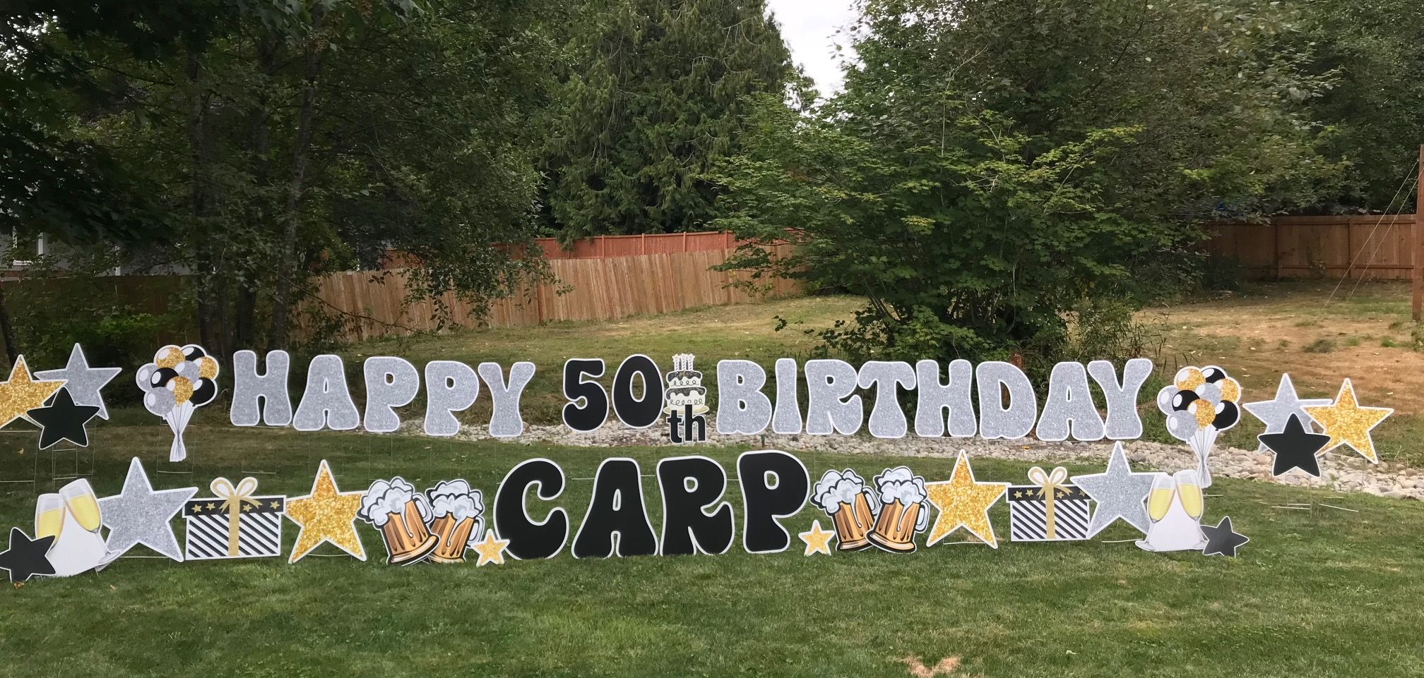 50th Birthday Yard Signs Make The Perfect Party