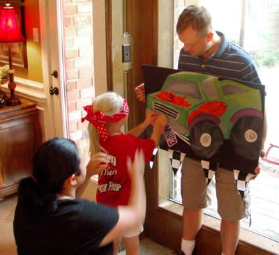 Here Are Cool Kids Birthday Party Theme Ideas And Photos For A Monster Truck