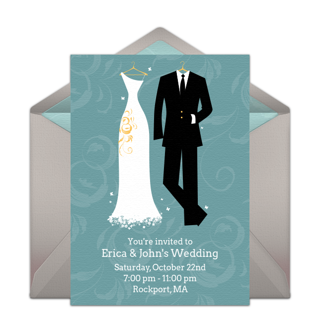 Free Bride and Groom Invitations | Wedding and Wedding