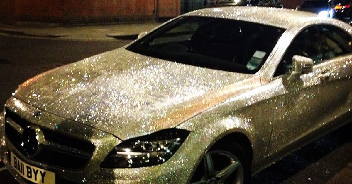 Not Gonna Lie I Would Totally Have A Glitter Car Just Would Need - Cool cars for girls