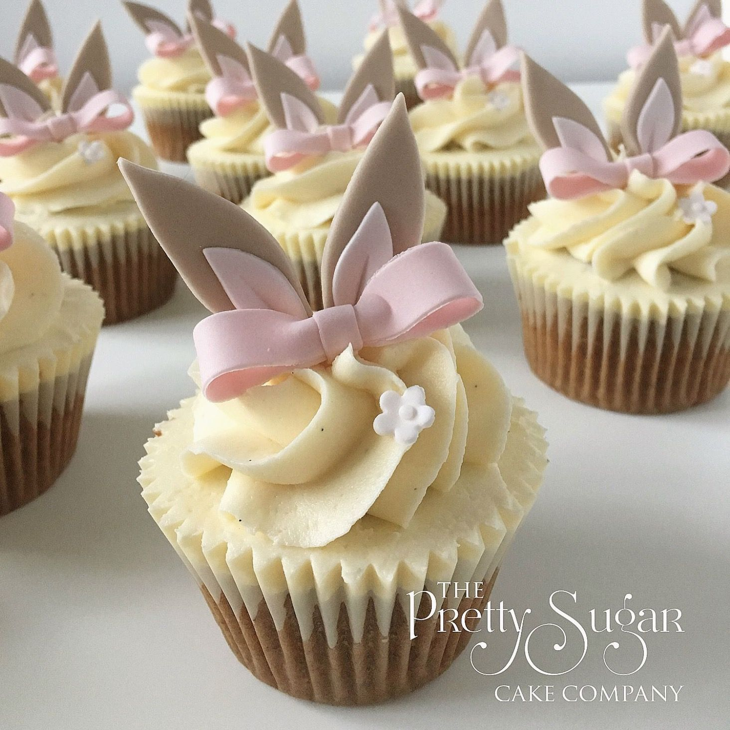 Flopsy Bunny cupcakes in 2020 (With images) | Savoury cake ...