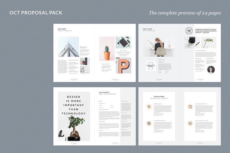 Proposal Pitch Pack by Graphicsegg on @creativemarket Printing - best proposal templates