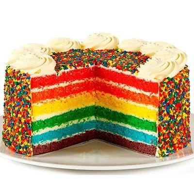 RAINBOW TORTE  Tortes  Gateaux  The Cheesecake Shop  Cake and food  Cake Torte und Desserts