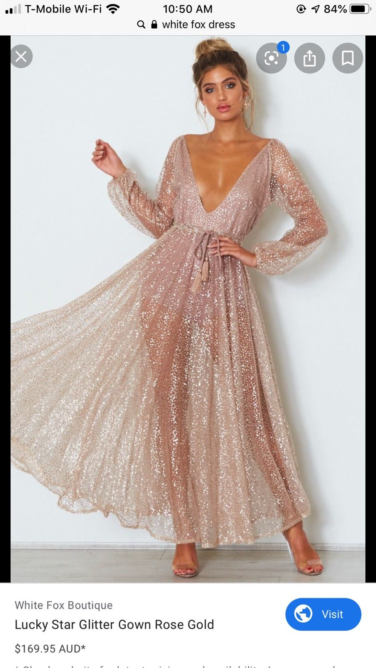 White Fox Small Dress Glitter Dress Formal Dresses Online Gold Glitter Dress [ 2133 x 1200 Pixel ]