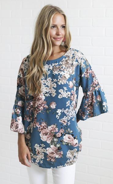 summer dreams floral top