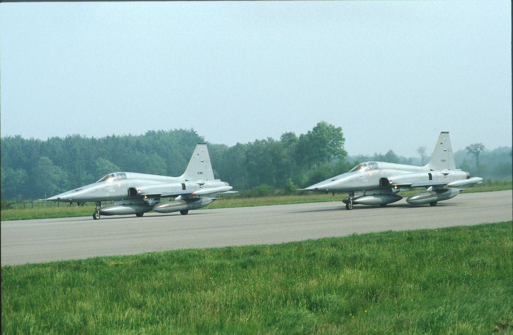 NF5 Airbase Twente Straaljagers Luchtmacht