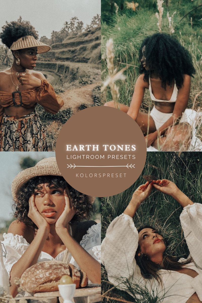 5 earth tone presetsbrown presetsinstagram presets