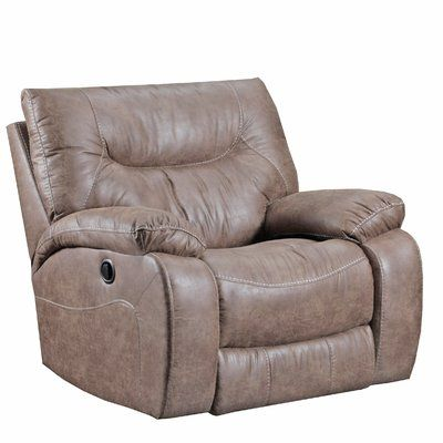 Loon Peak Grizzly Hill 22 Manual Rocker Recliner Recliner