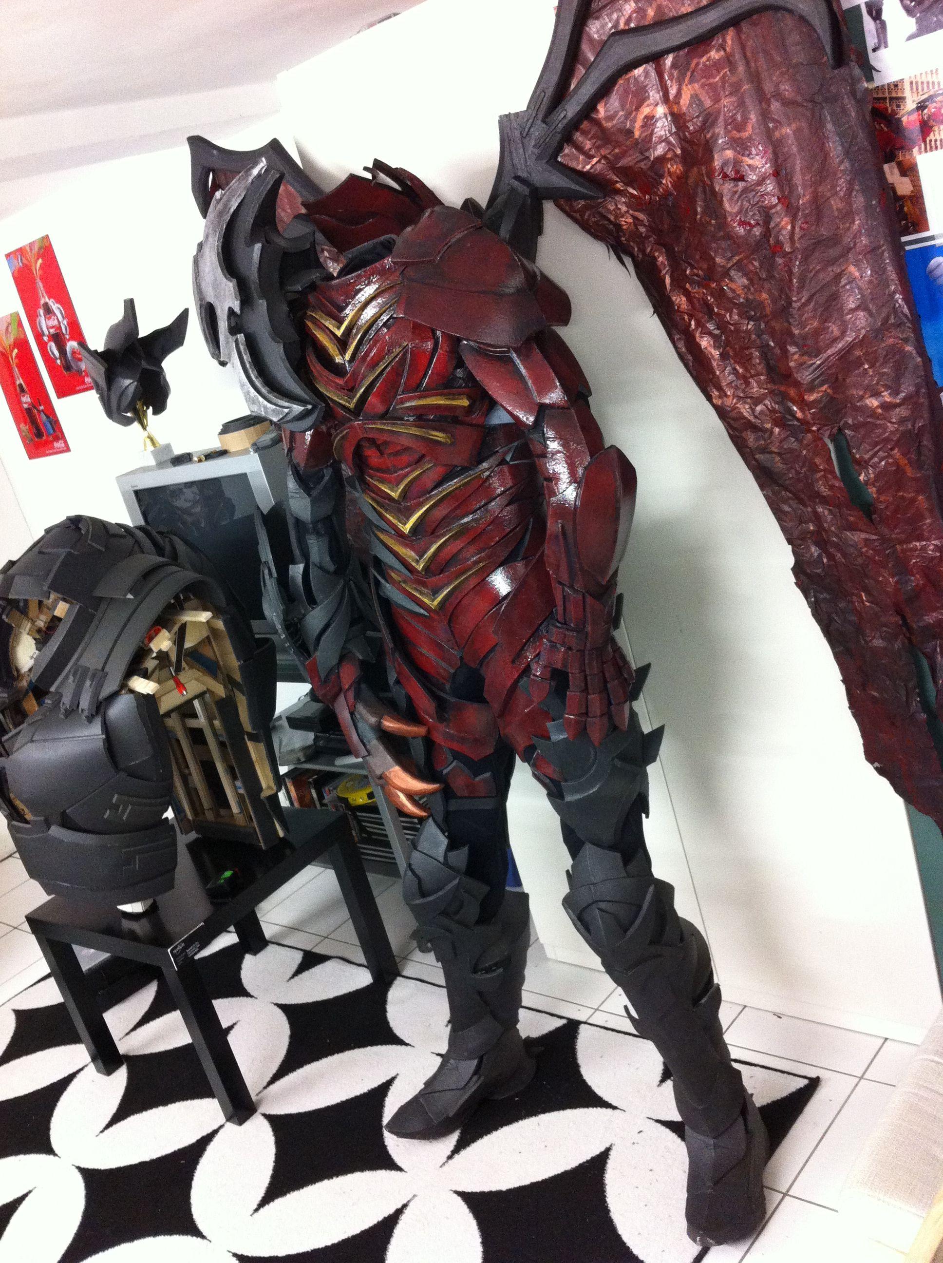 Aatrox League Of Legends Armor Costume By Prizmatec Cosplay Aye