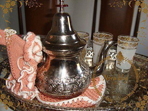 Cocina con Nora (cocina marroquí): El famoso té con menta marroquí