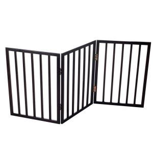 Paw 53 In X 24 In Wood Folding Pet Gate 80 62875 At The Home Depot Mobile Pet Gate Dog Gate Wooden Pet Gate