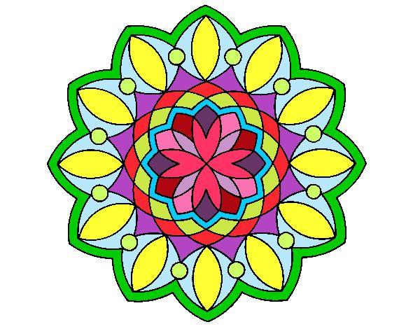 Mandalas de colores faciles google search mandalas pinterest mandalas - Mandala facile ...