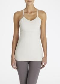 Rodale's T-Back Ruched Tank