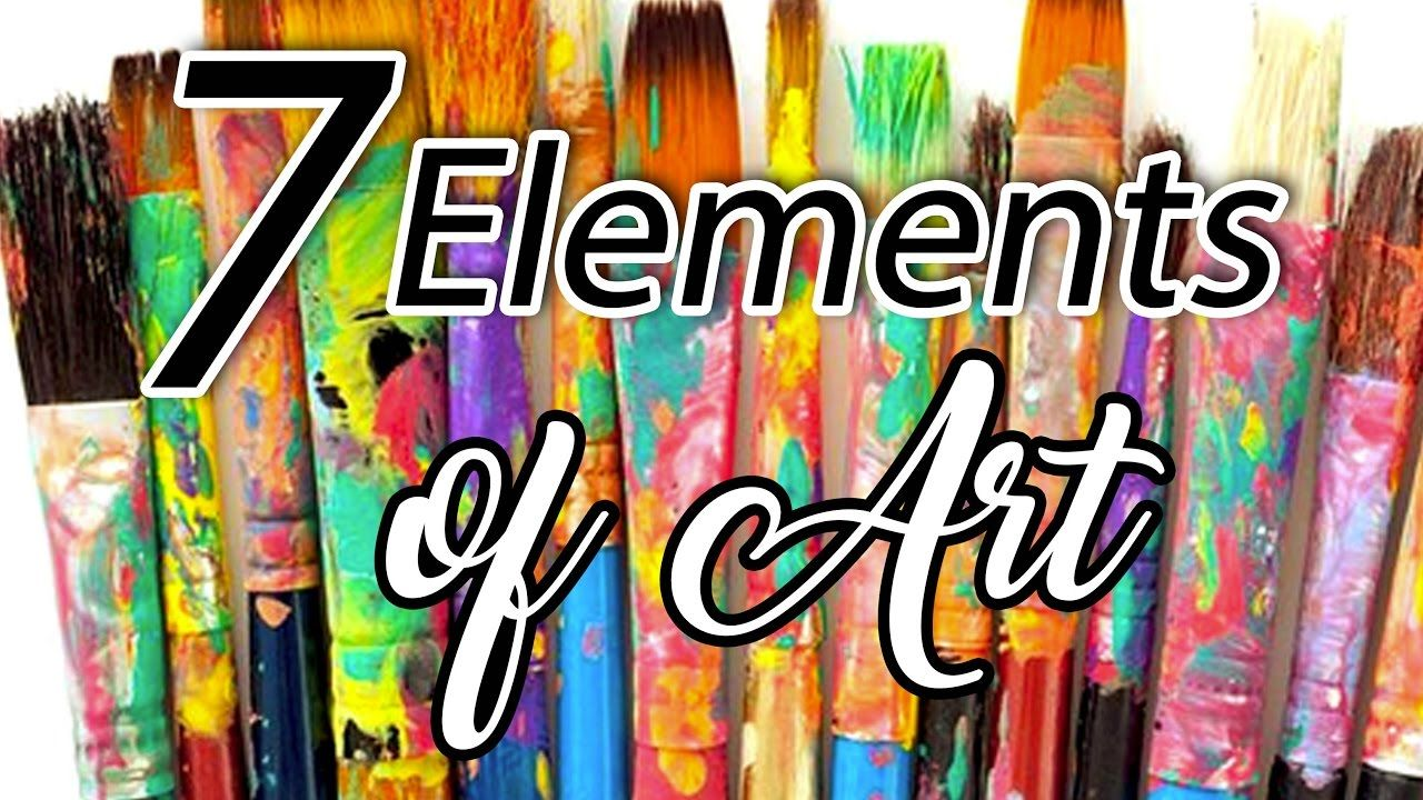 7 Elements Of Visual Arts : Elements of art the