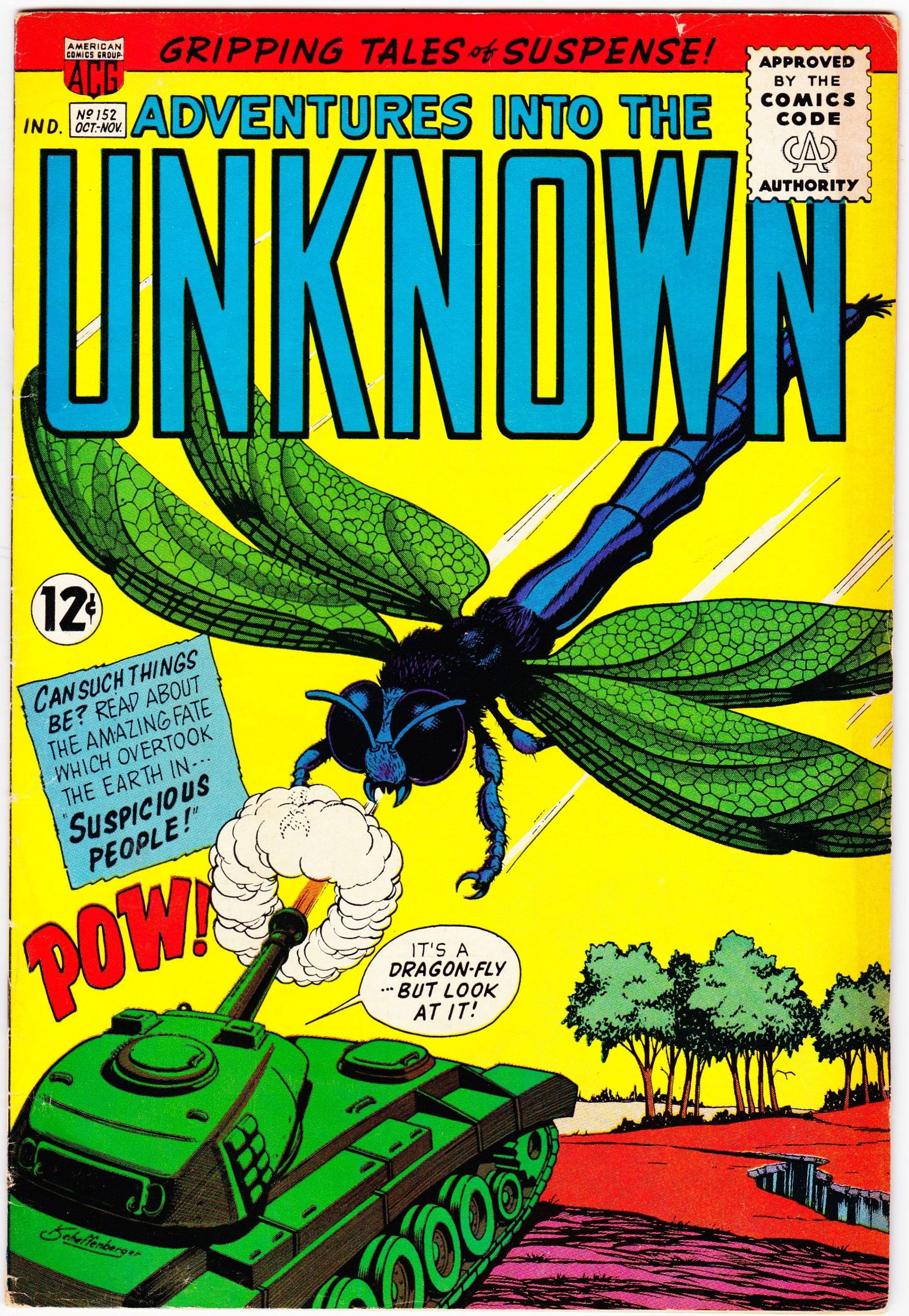 Adventures into the unknown 152 1948 series november