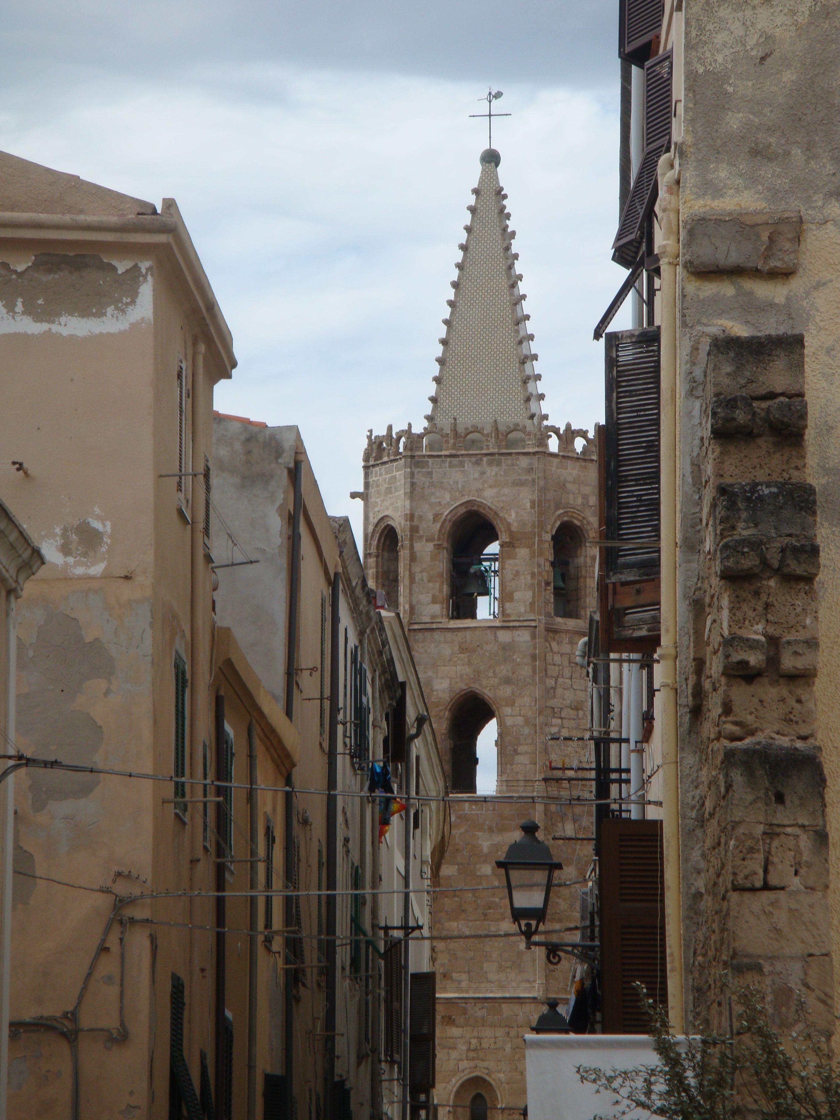 Alghero's Cathedral of Santa Maria  #sardinia #italy #Alghero
